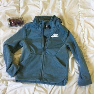 Turquoise Nike Winter jacket
